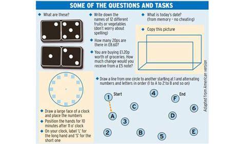 test per alzheimer ten minute quiz to show who is prone to alzheimer s