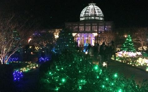 Botanical Gardens Garden Of Lights Lights At Lewis Ginter Botanical Gardens Miss Smarty Plants