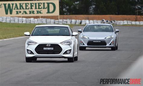 Toyota Garage Wakefield by Hyundai Veloster Sr Turbo Vs Toyota 86 Gts Comparison