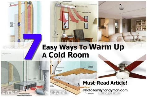 How To Make Your Room Cold 7 easy ways to warm up a cold room