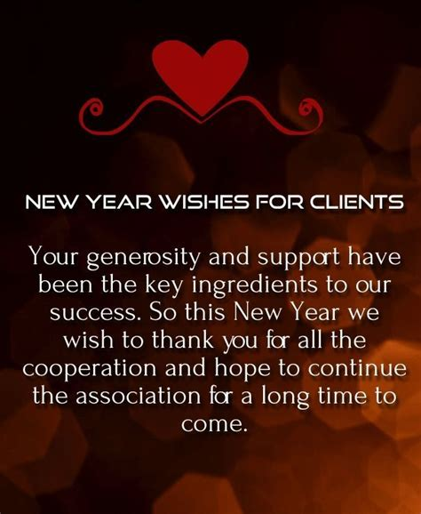 new year greetings phrases for business wishes of thanks to my clients pictures photos and