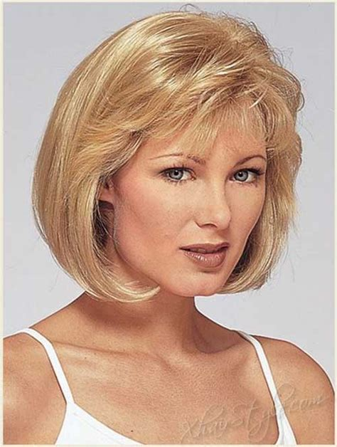 feathered bob hairstyles with bangs for 50 bob cuts for round faces short hairstyles 2016 2017
