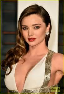 Vanity Fair Oscar 2015 Miranda Kerr Miranda Kerr Shows Some Serious Skin At Vanity Fair Oscars