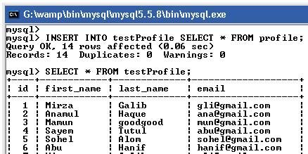 Mysql Select Into Temp Table by Mysql Insert Into Select From Lock Which Table