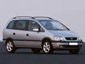 Opel Zafira Specifications Opel Zafira 2 0 1999 Auto Images And Specification