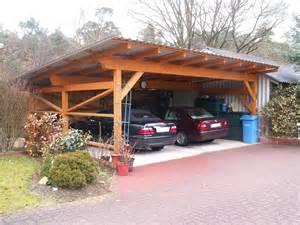 carport dach decken carport mit trapezblech eindeckung