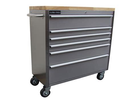 stainless steel tool cabinet steel tool chest us pro tools heavy duty tool box 42 quot