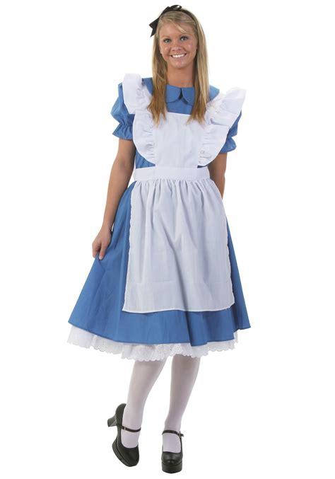 alice in wonderland costume alice in wonderland costumes adult deluxe alice costume