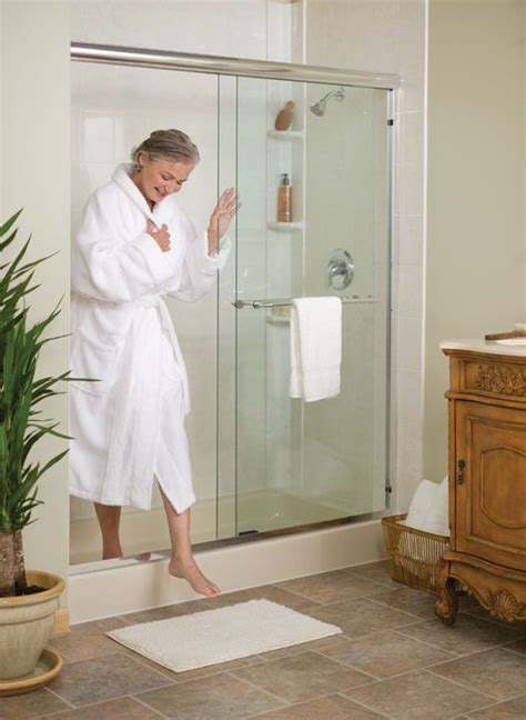how to replace bathtub with walk in shower best 25 tub to shower conversion ideas on pinterest