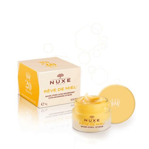 Nuxe Lip Balm nuxe reve de miel lip balm 20th anniversary yellow 15ml