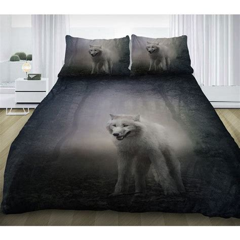 wolf bedding set wolf bedding set gray wolf duvet cover cotton sheets and