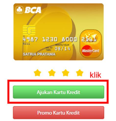 bca everyday card kartu kredit bca master card gold jaringan mastercard