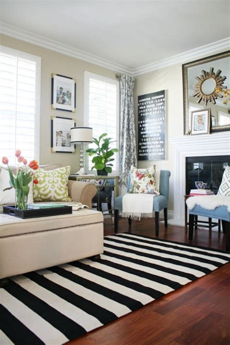 striped carpet living room a new living room rug stripes for the win a thoughtful place