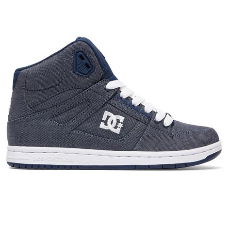 dc shoes high tops s rebound high tx se high top shoes adjs100065 dc