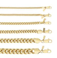 overlap hairstyle over chain 18kt gold overlay cuban curb link chain necklace or