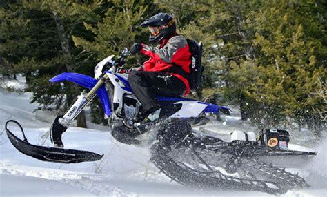 Suzuki Snow Bike Who Is The Snowbike Rider Snowmobile