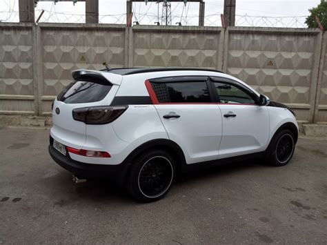 Kia Sportage Tuning Parts тюнинг Kia Sportage Crossover 2011 фото тюнинга