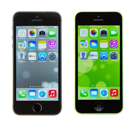 iphone 5s vs iphone 5c ebay