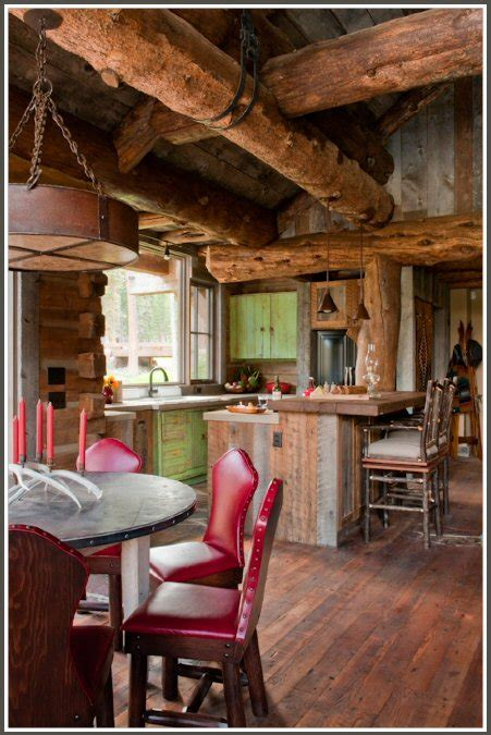 rustic cabin kitchen ideas cabin decor archives panda s house 4 interior