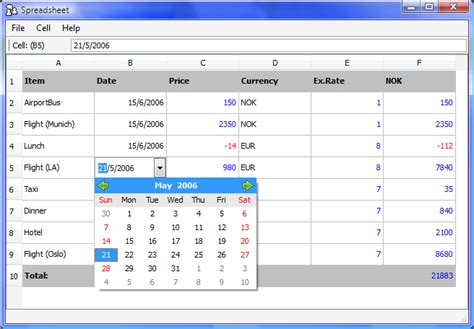 Spreadsheet Applications List by Spreadsheets Application Gallery