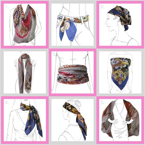 fashion chic and creative ways to tie a scarf 1 kako