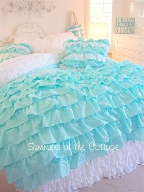 teal ruffle bedding 25 best ideas about teal girls rooms on pinterest paint girls rooms teal girls