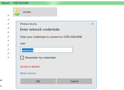 Cannot access shared folder in ubuntu from windows 10 ... Access To Clipboard Denied Windows 10