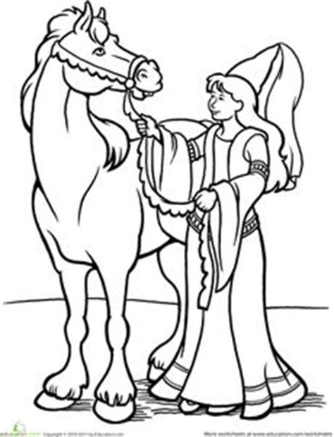 educational horse coloring pages activities maze and educational activities on pinterest