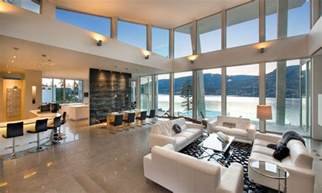 lake home interiors ultramodern lake house with luxurious details