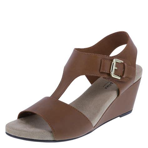 payless wedge sandals comfort plus by predictions vanna s mid wedge sandal