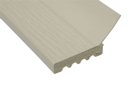 Garage Door Stop by Pvc Stop Molding Solid 2 Quot Almond Part Sts 210al