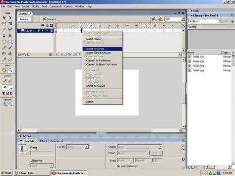 Cara Membuat Opening Video Dengan Flash | tria33 cara membuat intro video menggunakan macromedia