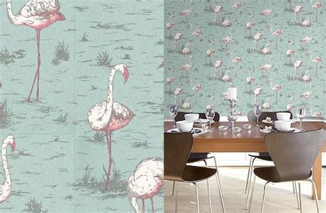flamingo wallpaper cole and son cole son papel pintado decoracion bilbao ekam
