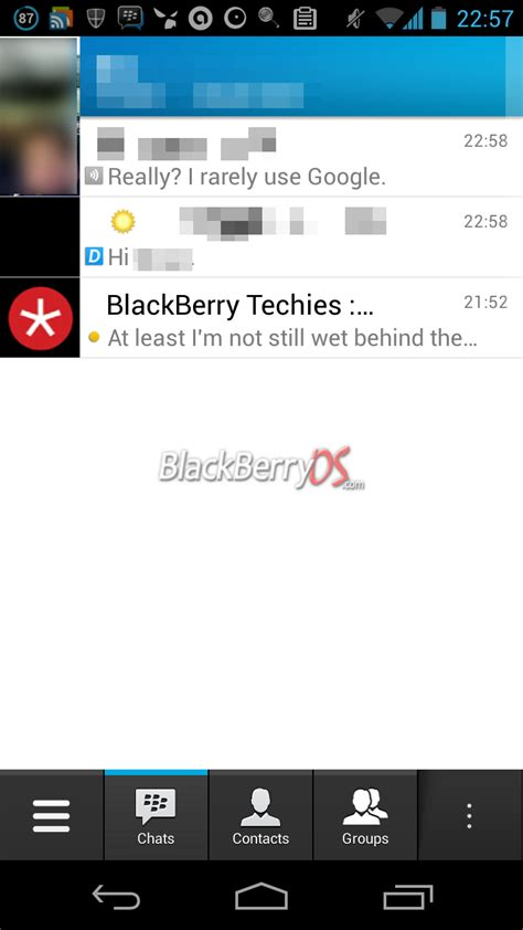 bbm android blackberry messenger for android shows up in leaked images