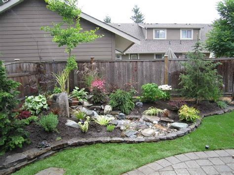 the simple backyard landscaping ideas front yard