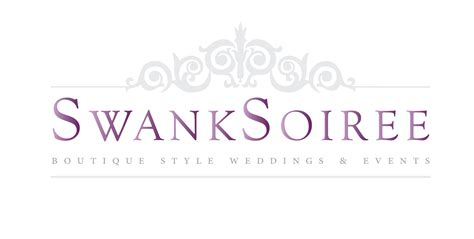design event names event planner swank soiree s new logo and website logo