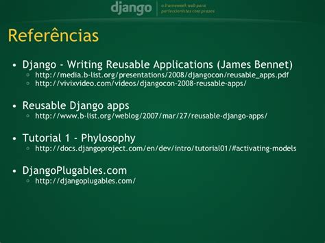 tutorial django 1 8 django criando aplicacoes plugaveis