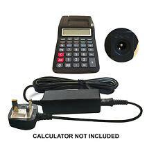 Casio Hr 150tec Printing Euro Tax Calculator A C Adapter
