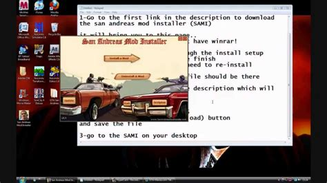 san andreas game mod installer how to install car mods to gta san andreas youtube