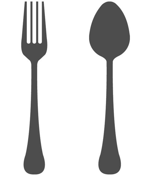 spoon and fork spoon and fork clipart 2 cliparting