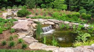 Backyard Pond Liners by Should I Have A Stream With My Koi Pond Premier Ponds