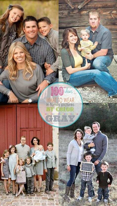 family picture color ideas family picture clothes by color gray capturing joy with