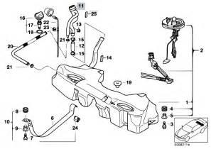 Fuel System E39 Original Parts For E39 M5 S62 Sedan Fuel Supply Fuel