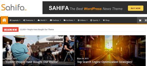sahifa theme configuration 11 best wordpress blog themes for 2018 skywarrior themes