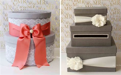 Gift Card Ideas For Wedding - 64 unique wedding card holder ideas wedding card box silver gift money box