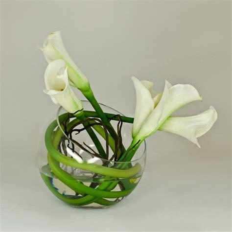 calla table l l floral moderne jolis arrangements de fleurs
