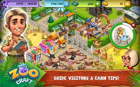 download game my free zoo mod apk zoocraft android apk v1 1 76 full hile apk indir