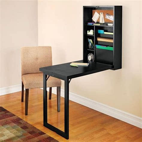 Fold Away Office Desk Space Saving Ideas Anyone With A Small Home Needs To