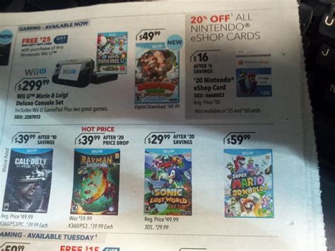 Eshop Gift Card Sale - best buy eshop cards getting 20 discount again starting feb 23 nintendo everything