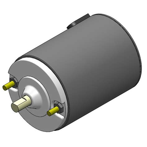 1500 rpm fan motor eml2322l part cad models